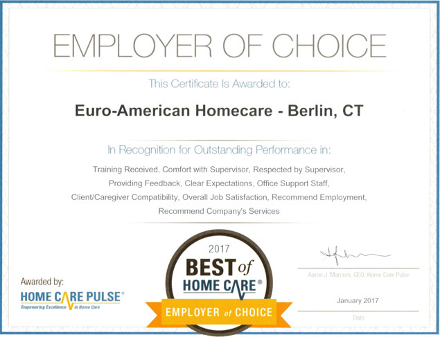 For Caregivers Euro American Connections Homecare